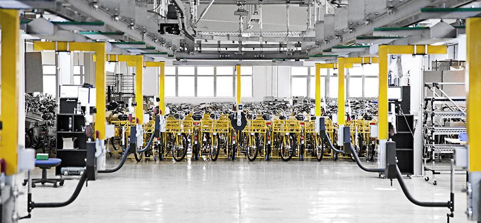 bicycle factory