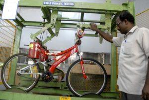 bicycle testing