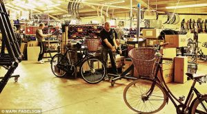 city bike shopping