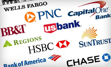 list of bank options logos