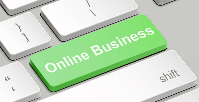 green button for online business