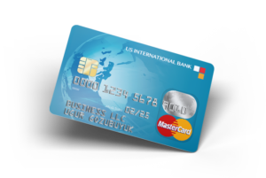 US international bank card