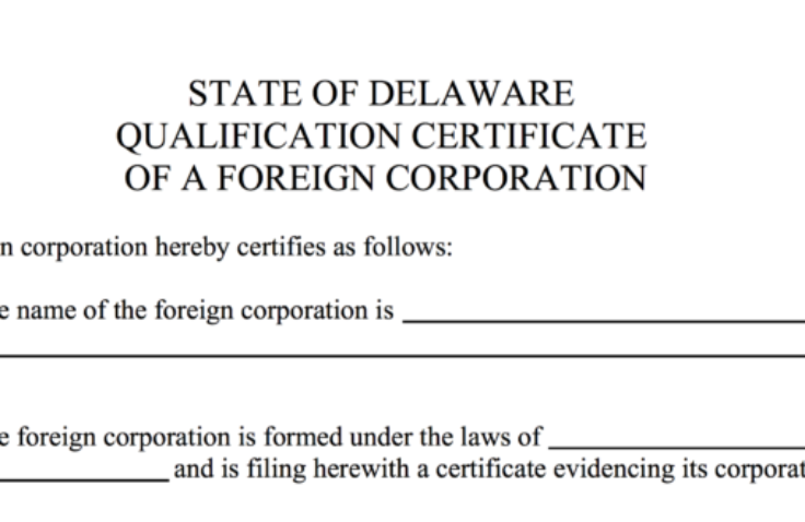 What is Foreign Qualification?